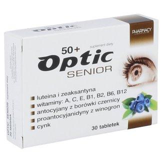 Optic Senior 50 +, 30 tabletek - zdjęcie produktu