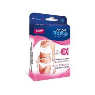 ActivePlast Functional, plastry kosmetyczne na płaski brzuch, 6 sztuk - zdjęcie produktu