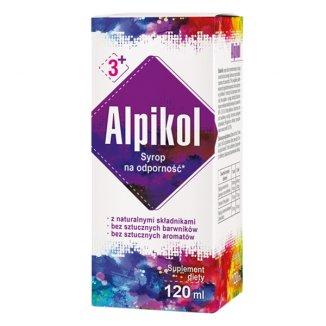 Alpikol, syrop na odporność dla dzieci po 3 roku i dorosłych, 120 ml - zdjęcie produktu