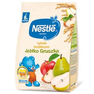 Nestle Kaszka ryżowa, bezmleczna, jabłko, gruszka, po 6 miesiącu, 180 g - zdjęcie produktu
