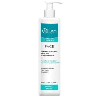 Oillan Balance, dermatologiczna emulsja do mycia twarzy, 250 ml - zdjęcie produktu