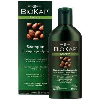 Biokap Bellezza, szampon do częstego stosowania, włosy suche, 100 ml - zdjęcie produktu