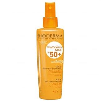 Bioderma Photoderm Max Spray, spray ochronny dla dzieci powyżej 12 miesiąca, SPF50+, 200 ml - zdjęcie produktu