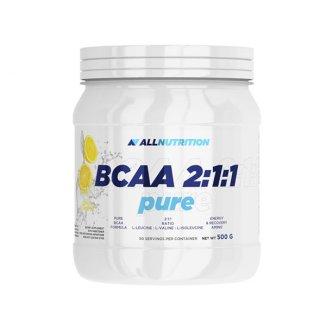 Allnutrition, BCAA 2:1:1, aminokwasy, cytryna, 500 g - zdjęcie produktu