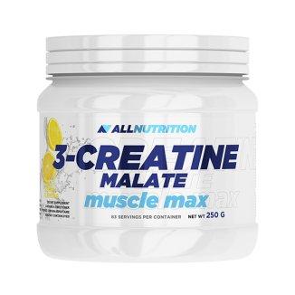 Allnutrition, 3-Creatine Malate, Muscle Max, jabłczan kreatyny, smak cytrynowy, 250 g - zdjęcie produktu