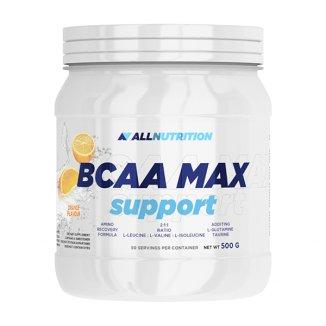 Allnutrition, BCAA Max Support, aminokwasy, smak pomarańczowy, 500 g - zdjęcie produktu