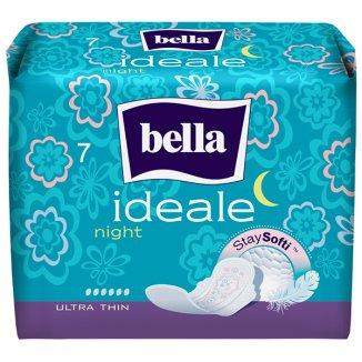 Bella Ideale, podpaski higieniczne StaySofti ze skrzydełkami, ultracienkie, Night, 7 sztuk - zdjęcie produktu
