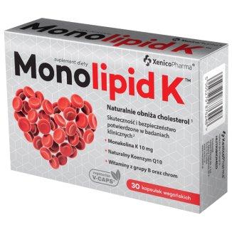 Monolipid K, 30 kapsułek - zdjęcie produktu