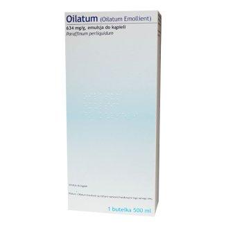 Oilatum 634 mg/ g, emulsja do kąpieli, 500 ml, IMPORT RÓWNOLEGŁY - zdjęcie produktu