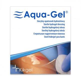Aqua-Gel, sterylny opatrunek hydrożelowy, średnica 5 cm, 1 sztuka - zdjęcie produktu