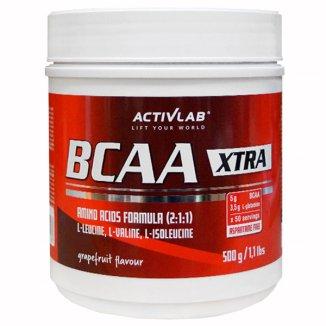 ActivLab BCAA X-tra, smak grapefruitowy, 500 g - zdjęcie produktu