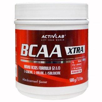 Activlab BCAA X-tra, smak czarnej porzeczki, 500 g - zdjęcie produktu
