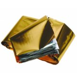 Koc ratunkowy srebrno-złoty, 1,6 cm x 2,1m, ThermCare, 1 sztuka - miniaturka zdjęcia produktu