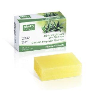 Phyto Nature, mydło glicerynowe z aloesem, 120 g - zdjęcie produktu