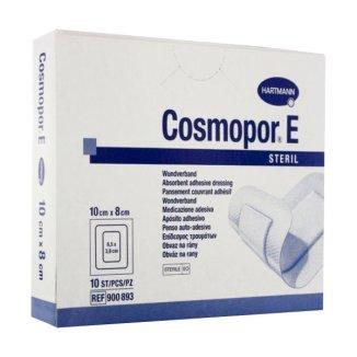 Cosmopor E, opatrunek na rany pooperacyjne, jałowy, 10 cm x 8 cm, 25 sztuk - zdjęcie produktu