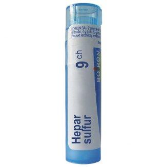 Boiron, Hepar sulfur 9 CH, granulki, 4 g - zdjęcie produktu