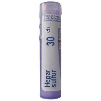 Boiron Hepar sulfur, 30CH granulki, 4 g - zdjęcie produktu