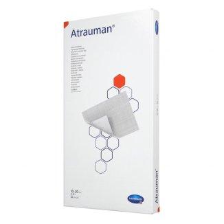 Atrauman, opatrunek z maścią, jałowy, 10 cm x 20 cm, 30 sztuk - zdjęcie produktu