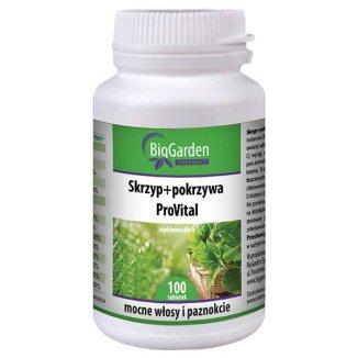 BigGarden Skrzyp + Pokrzywa ProVital, 100 tabletek - zdjęcie produktu