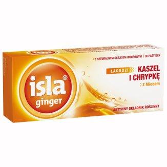 Isla Ginger pastylki do ssania, 30 pastylek - zdjęcie produktu
