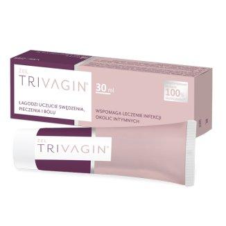 Trivagin, żel do stosowania pomocniczo w leczeniu infekcji okolic intymnych, 30 ml - zdjęcie produktu