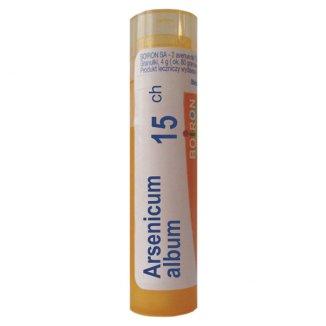 Boiron Arsenicum album 15 CH, granulki, 4 g - zdjęcie produktu