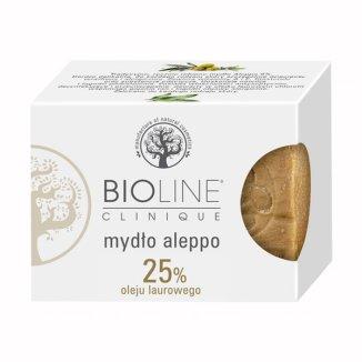 Bioline, mydło Aleppo 25% oleju laurowego, 200 g - zdjęcie produktu
