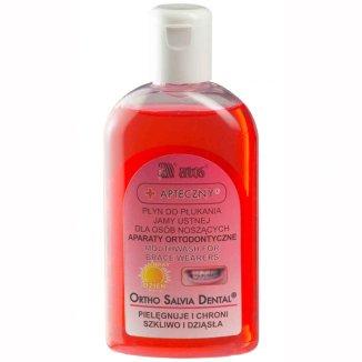 Ortho Salvia Dental, płyn do płukania jamy ustnej, 200 ml - zdjęcie produktu