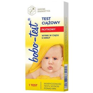 Bobo, test ciążowy, płytkowy, 1 sztuka - zdjęcie produktu