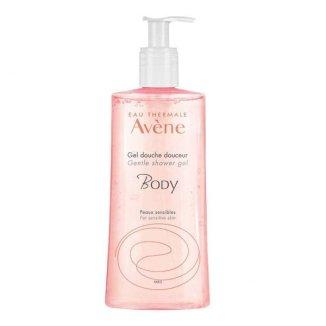 Avene Body, łagodny żel pod prysznic do twarzy i ciała, skóra wrażliwa, 500 ml - zdjęcie produktu