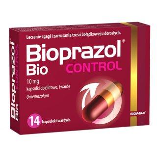 Bioprazol Bio Control 10 mg, 14 kapsułek dojelitowych twardych - zdjęcie produktu