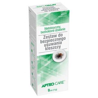 Apteo Care, zestaw do bezpiecznego usuwania kleszczy - zdjęcie produktu