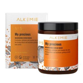 Alkemie My Precious, odżywczy peeling myjący do ciała, 200 g - zdjęcie produktu