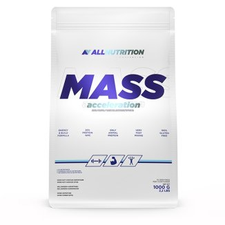 Allnutrition, Mass Acceleration, gainer, smak bananowy, 1000 g - zdjęcie produktu
