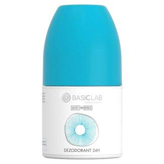 Basiclab, Dezodorant 24h, roll-on, 60 ml - zdjęcie produktu