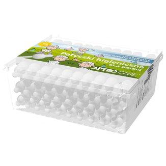 Apteo Care, patyczki higieniczne dla dzieci, 60 sztuk - zdjęcie produktu