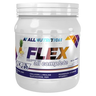 Allnutrition, Flex All Complete, Pineapple, kolagen, smak ananasowy, 400 g - zdjęcie produktu