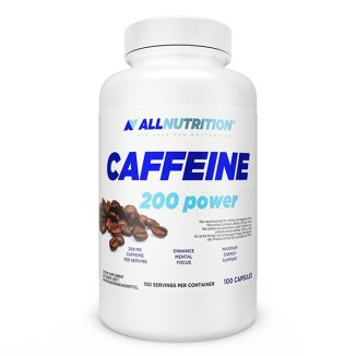 Allnutrition, Caffeine 200 mg, 100 kapsułek - zdjęcie produktu