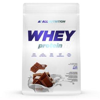Allnutrition, Whey Protein, białko, smak czekoladowy, 908 g - zdjęcie produktu
