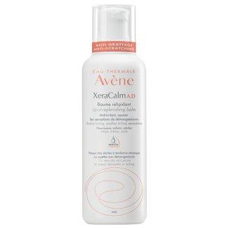Avene XeraCalm A.D, balsam uzupełniający lipidy do twarzy i ciała, skóra sucha, atopowa i swędząca, 400 ml - zdjęcie produktu