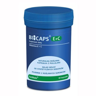 ForMeds, Bicaps E + C, 60 kapsułek - zdjęcie produktu