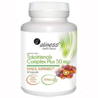 Aliness Tokotrienols Complex Plus 50 mg, 60 kapsułek - zdjęcie produktu