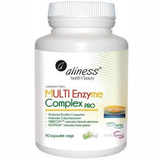 Aliness Multi Enzyme Complex Pro, 90 kapsułek vege - zdjęcie produktu