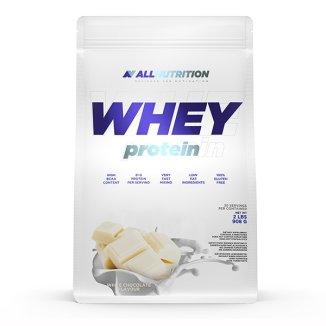 Allnutrition, Whey Protein, białko, smak biała czekolada, 908 g - zdjęcie produktu
