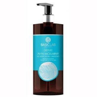 Basiclab, płyn micelarny do skóry suchej i wrażliwej, 500 ml - zdjęcie produktu