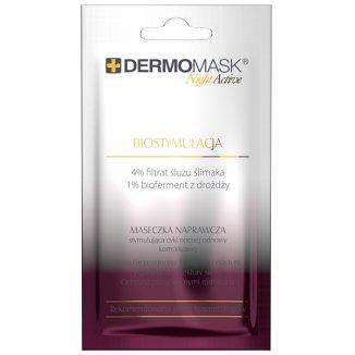 Dermomask, Night Active, Biostymulująca maseczka naprawcza, 12 ml - zdjęcie produktu