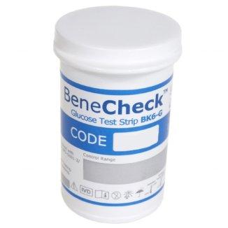 BeneCheck BK6-G, paski testowe do pomiaru glukozy we krwi, 50 sztuk - zdjęcie produktu
