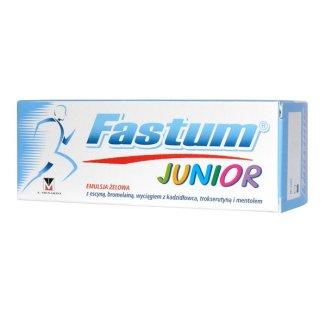 Fastum Junior, emulsja żelowa, 50 ml - zdjęcie produktu