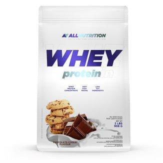 Allnutrition, Whey Protein, białko, smak czekoladowo-ciasteczkowy, 908 g - zdjęcie produktu