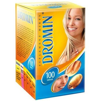 Dromin, 100 tabletek - zdjęcie produktu